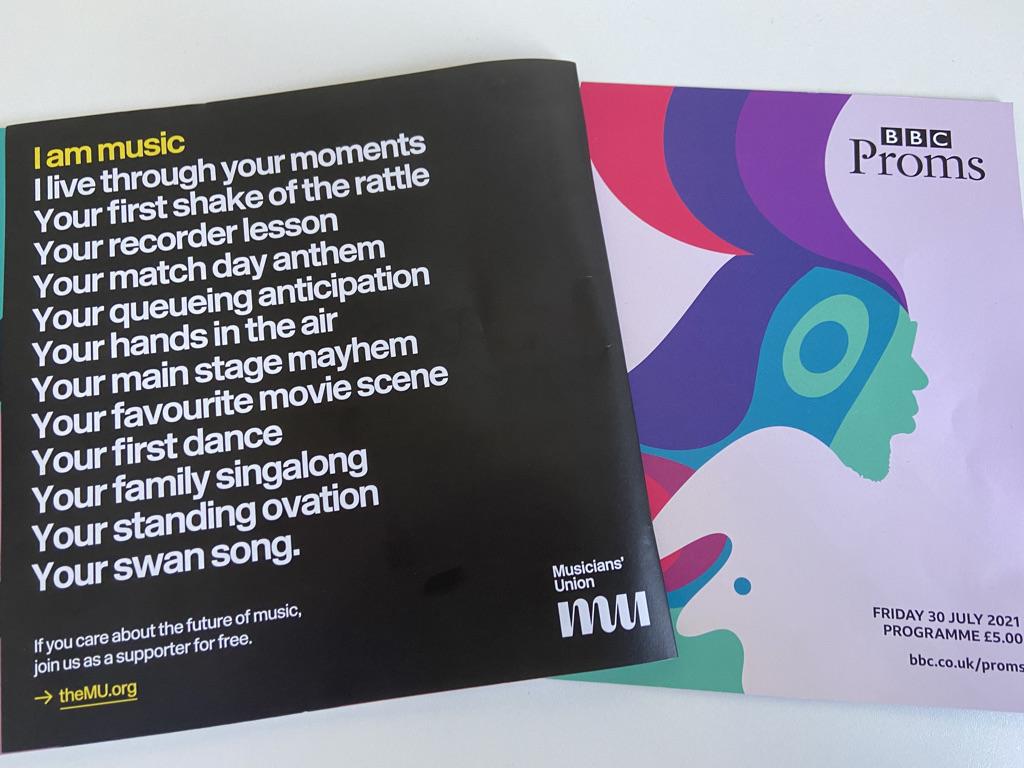Proms programme
